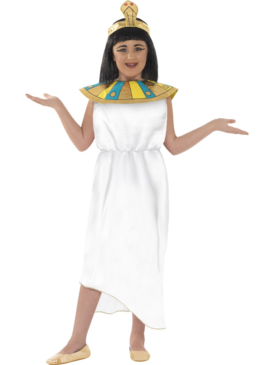 f54a1ae93c Horrible Histories - Awful Egyptian Cleopatra Costume. A fantastic girl s  Cleopatra fancy dress ...